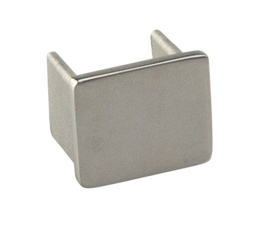 Handrail Square Mirror End Cap