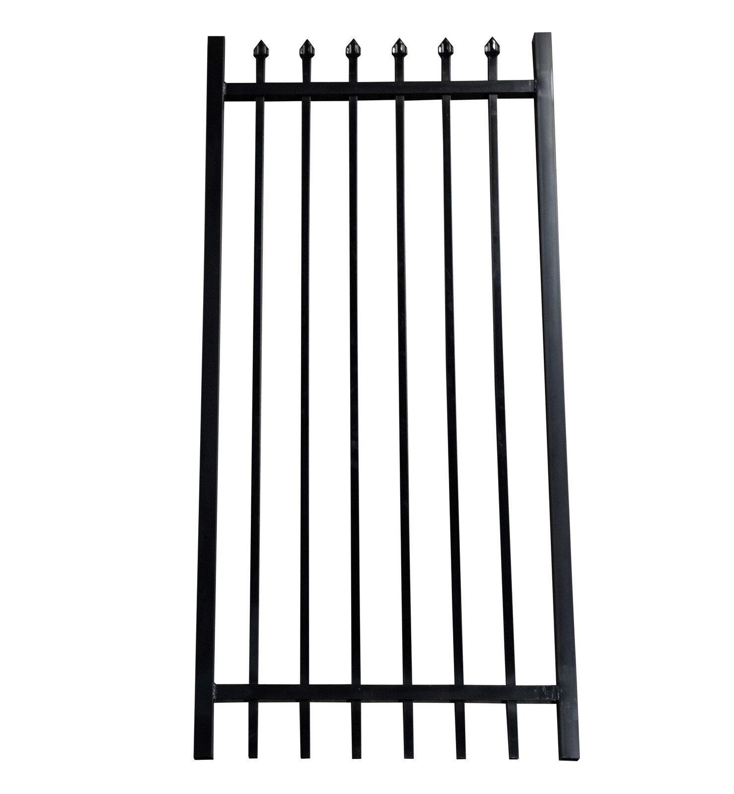 Heavy Security Crimped Top Gate 1000 x 2100 Aluminium