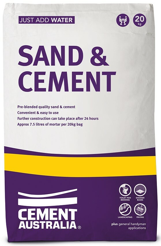 Sand and Cement 20kg Cement Australia