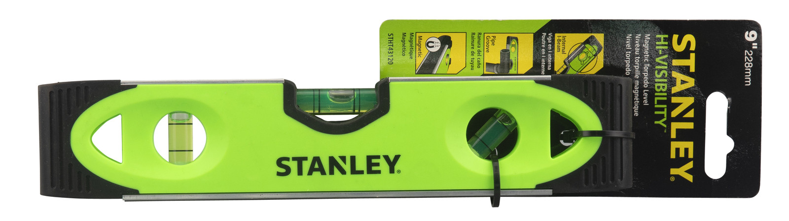 Stanley 300mm Level - Fluro